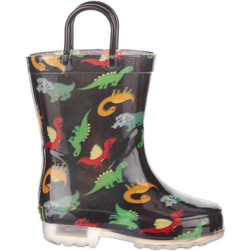 Austin Trading Co. Toddler Boys' Lighted PVC Boots
