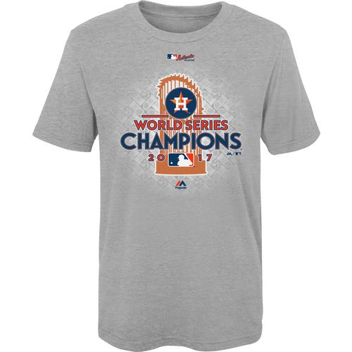 Majestic Little Kids' Astros 2017 World Series Champions T-Shirt