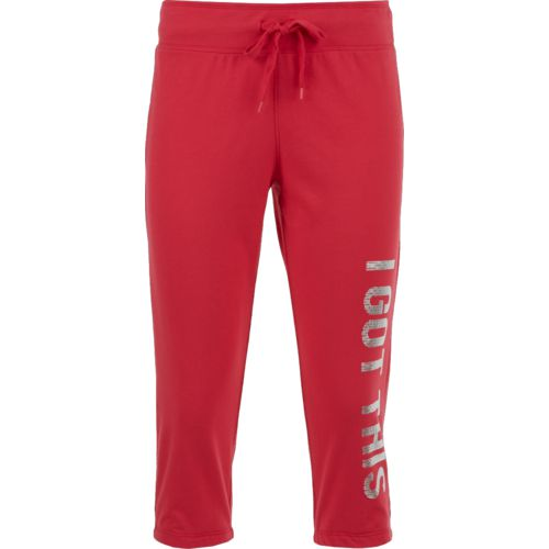 BCG Women's Got This Casual Graphic Capri Pants