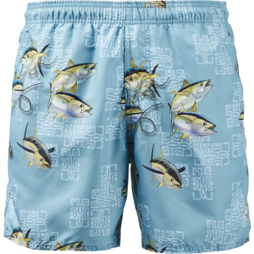 Guy Harvey Men's Oceana Volley Swim Trunks