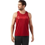 Reebok Men's CrossFit Logo Tank Top - view number 1