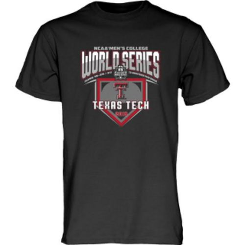 Blue 84 Men's Texas Tech University College World Series 2018 T-Shirt