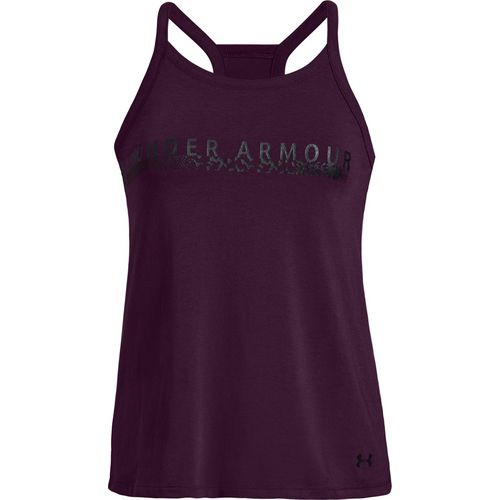 Display product reviews for Under Armour Women's Metallic Bar Graphic Tank Top