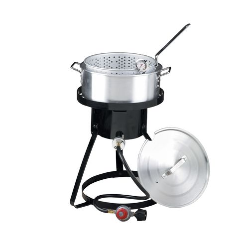 Outdoor Gourmet 1-Burner Propane Fish Fryer Set