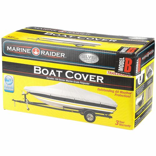 Marine Raider Silver Series Model B Boat Cover - view number 2
