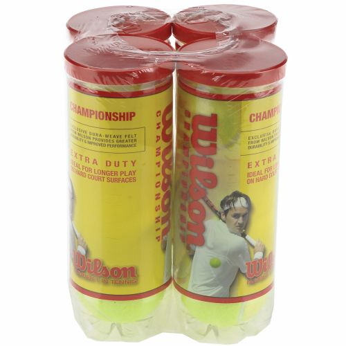 Image for Wilson Championship XD Tennis Balls 4-Pack from Academy