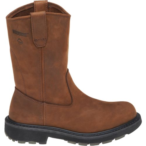 Wolverine Men s Dual-Density Wellington Work Boots