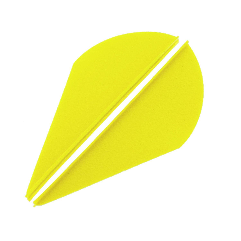 """Bohning Blazer® 2"""" Neon Yellow Broadhead Vanes 36-Pack"""