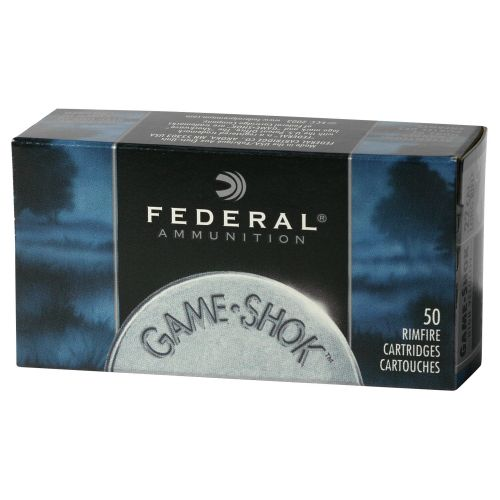 Federal® Game-Shok® .22 LR 40-Grain Rimfire Ballistic Ammunition