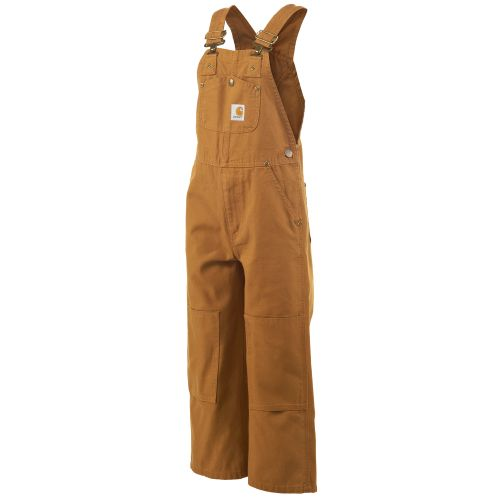 Carhartt Boys' Duck Washed Bib Overall
