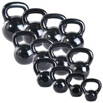 CAP Barbell 80 lb. Black Polished Kettlebell