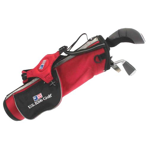 U.S. Kids Golf Junior 3-Club Carry Bag Set