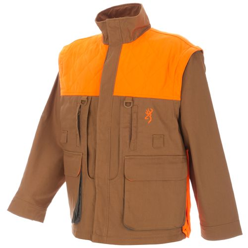 Browning Men s Pheasants Forever Zip Off Sleeve Jacket