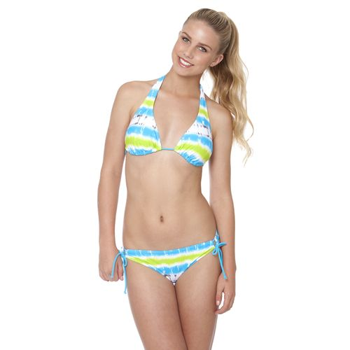 Image for O'Rageous® Juniors' Beach Wave Keyhole Hipster Swim Bottom from Academy