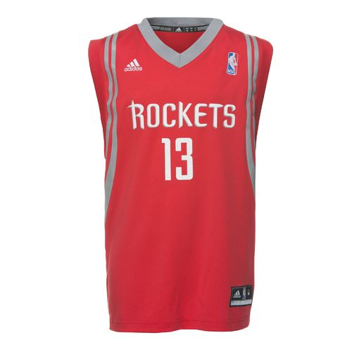 adidas™ Boys' Houston Rockets James Harden #13 Revolution 30 Replica Road Jersey