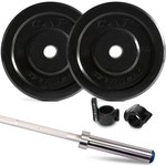 CAP Barbell Bumper Plates and Training Bar
