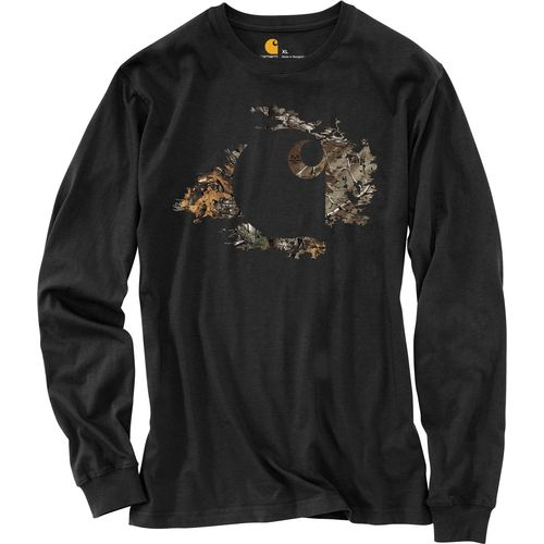 Carhartt Men s Workwear Realtree Xtra  Camo Accent Graphic Long Sleeve T-shirt