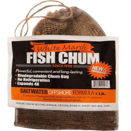 White Marsh 1 lb. Fish Chum Bag
