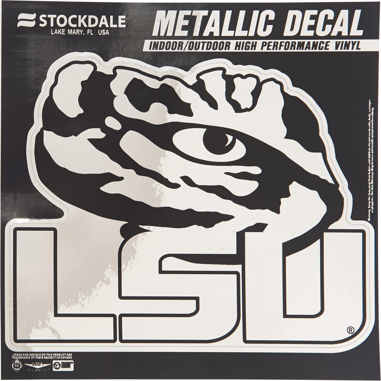 "Stockdale Louisiana State University 6"" x 6"" Metallic"