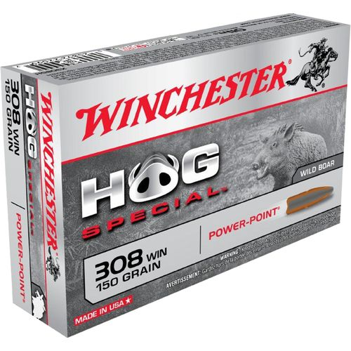 Display product reviews for Winchester Power-Point Hog Special .308 Winchester 150-Grain Centerfire Rifle Ammunition