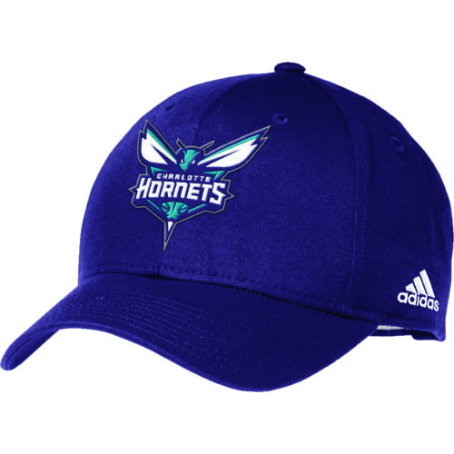adidas™ Adults' Charlotte Hornets Structured Adjustable Cap