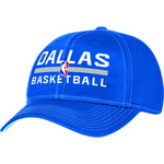 adidas Adults' Dallas Mavericks Authentic Practice Structured Adjustable Cap