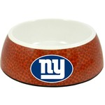 GameWear New York Giants Classic NFL Football Pet Bowl