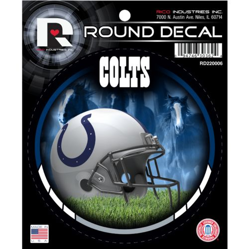 Rico Indianapolis Colts Round Decal