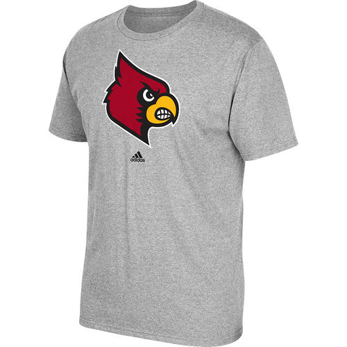 adidas™ Men's University of Louisville School Logo T-shirt