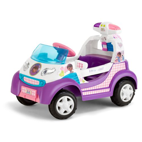 KidTrax Girls' Disney Doc McStuffins Ambulance 6V Quad