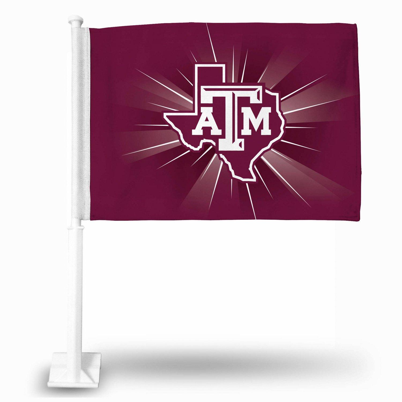 Rico Texas A&M University Car Flag