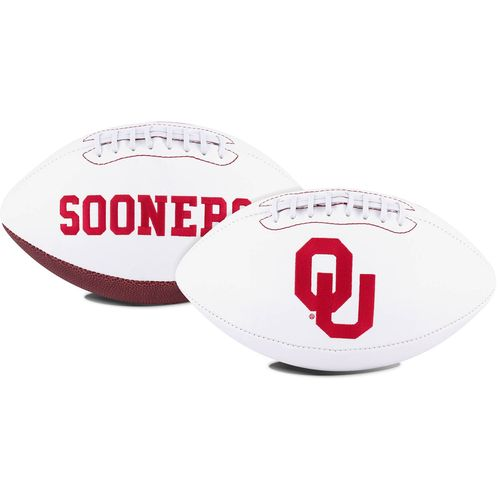 Jarden Sports Licensing University of Oklahoma Signature Series Full Size Football with Autograph Pe