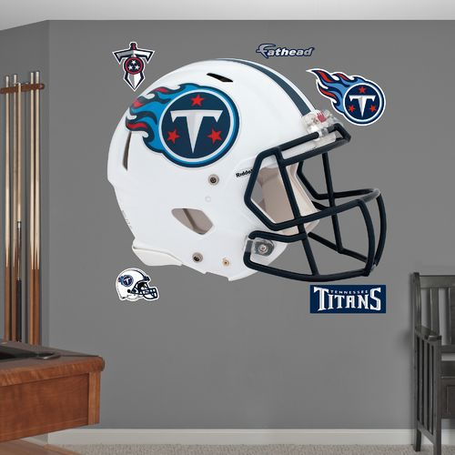 Fathead Tennessee Titans Helmet and Team Decals 6-Pack