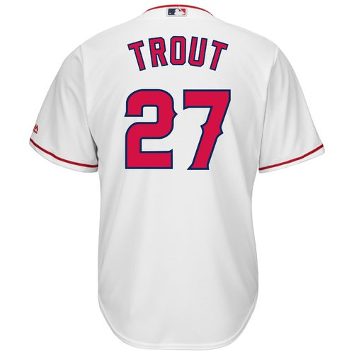 Majestic Men's Los Angeles Angels Mike Trout #27