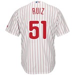 Majestic Men's Philadelphia Phillies Carlos Ruiz #51 Cool Base Replica Jersey