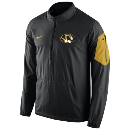 Nike Men's University of Missouri Lockdown 1/2 Zip