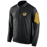 Nike Men's University of Missouri Lockdown 1/2 Zip Jacket