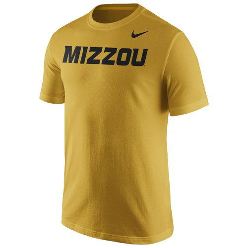 Display product reviews for Nike™ Men's University of Missouri Cotton Short Sleeve Wordmark T-shirt