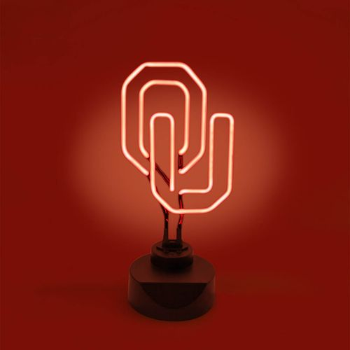AES Optics University of Oklahoma Table Top Neon Light
