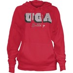 Three Squared Women's University of Georgia Dirty Bird Hoodie