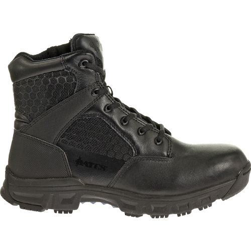 "Bates Men's Code 6 6"" Side-Zip Service Boots"