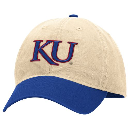 adidas™ Men's University of Kansas Adjustable Slouch Cap