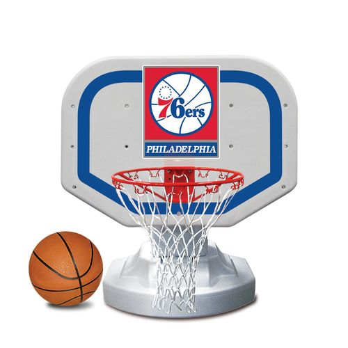 Poolmaster® Philadelphia 76ers Competition Style Poolside Basketball Game