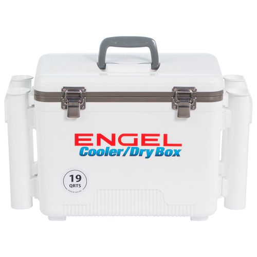 Engel 19 qt. Cooler/Dry Box with Rod Holders - view number 2