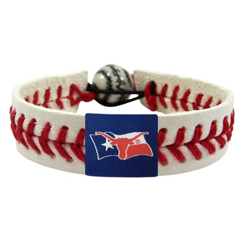 GameWear University of Texas Flag Classic Baseball Bracelet