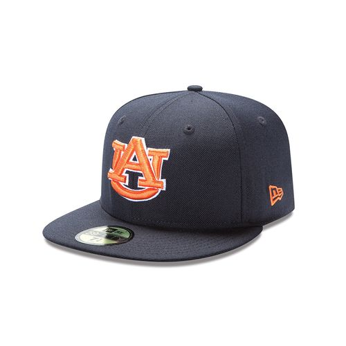 New Era Men's Auburn University 59FIFTY Cap