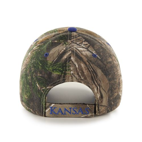 '47 Adults' University of Kansas Realtree Frost '47 MVP Cap - view number 2