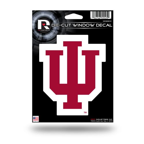 Rico Indiana University Medium Die-Cut Window Decal