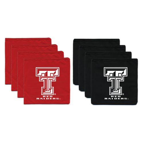 BAGGO® Texas Tech University 9.5 oz. Replacement Beanbag Toss Beanbags 8-Pack
