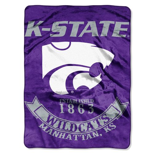 The Northwest Company Kansas State University Rebel Raschel Throw